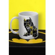 Caneca Batman 80 Anos As Faces de Batman