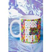 Caneca Birds of Prey Logo