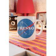 Caneca Fresno Programa Espacial