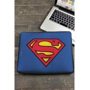 Capa de Notebook Logo Superman Oficial