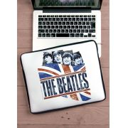 Capa Para Notebook The Beatles - England Flag