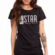 Combo 2 Camisetas Star Laboratories E Supergirl Oficial