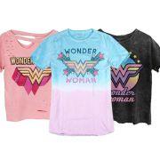 Combo Wonder Woman Camisetas Femininas