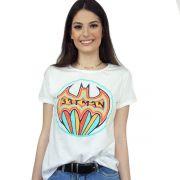 Kit 2 Camisetas Femininas Batman Colorful e I'm Batgirl