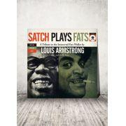 LP Louis Armstrong Satch Plays Fats