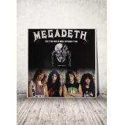 LP Megadeth Sao Paulo do Brasil September 2nd 1995