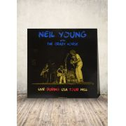 LP Neil Young & Crazy Horse Live during USA Tour November 1986