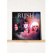 LP Rush Agora Ballroom Cleveland Ohio May 1975 Grey Vinyl