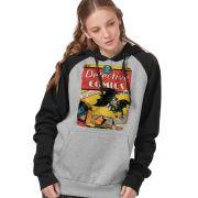Moletom Raglan Feminino Batman 80 Anos Detective Comics