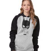 Moletom Raglan Feminino I'm Batgirl
