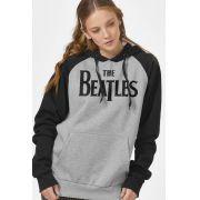 Moletom Raglan Feminino The Beatles Logo