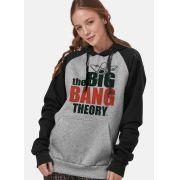 Moletom Raglan Feminino The Big Bang Theory Logo