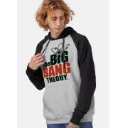 Moletom Raglan The Big Bang Theory Logo