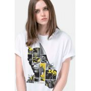 T-Shirt Feminina Batman 80 Anos As Faces de Batman