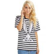 T-shirt Feminina Pernalonga Tracing