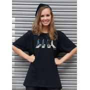 T-Shirt Feminina The Beatles Abbey Road