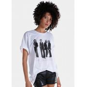 T-Shirt Feminina The Beatles White Album Basic