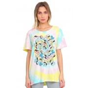 T-shirt Feminina Tie Dye Turma da Mônica Expressões