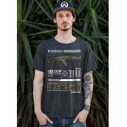 T-Shirt Premium Masculina BDPlayer Golden