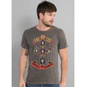 T-shirt Premium Masculina Guns N' Roses Appetite For Destruction