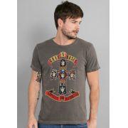 T-shirt Premium Masculina Guns N' Roses Appetite For Destruction
