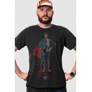T-shirt Premium Masculina Superman X-Ray Vision Body