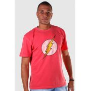 T-shirt Premium Masculina The Flash Logo