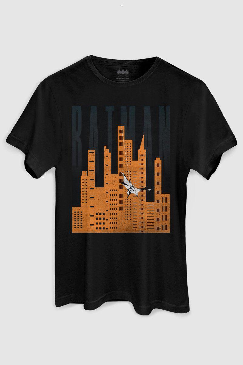 Camiseta Masculina Batman In Gotham City  - bandUP Store Marketplace