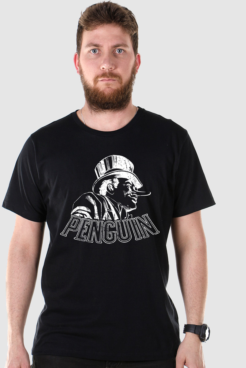 Camiseta Masculina The Penguin Tracing  - bandUP Store Marketplace