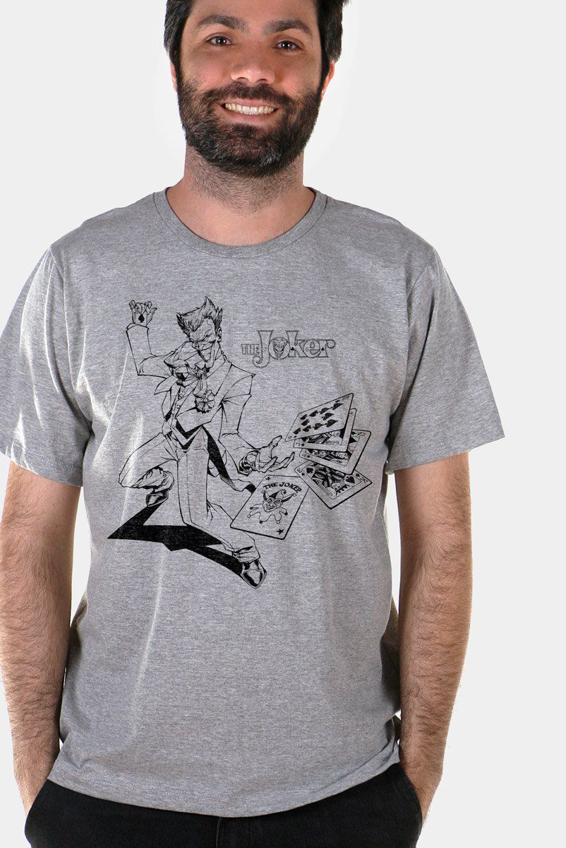 Camiseta Masculina Tracing The Joker  - bandUP Store Marketplace