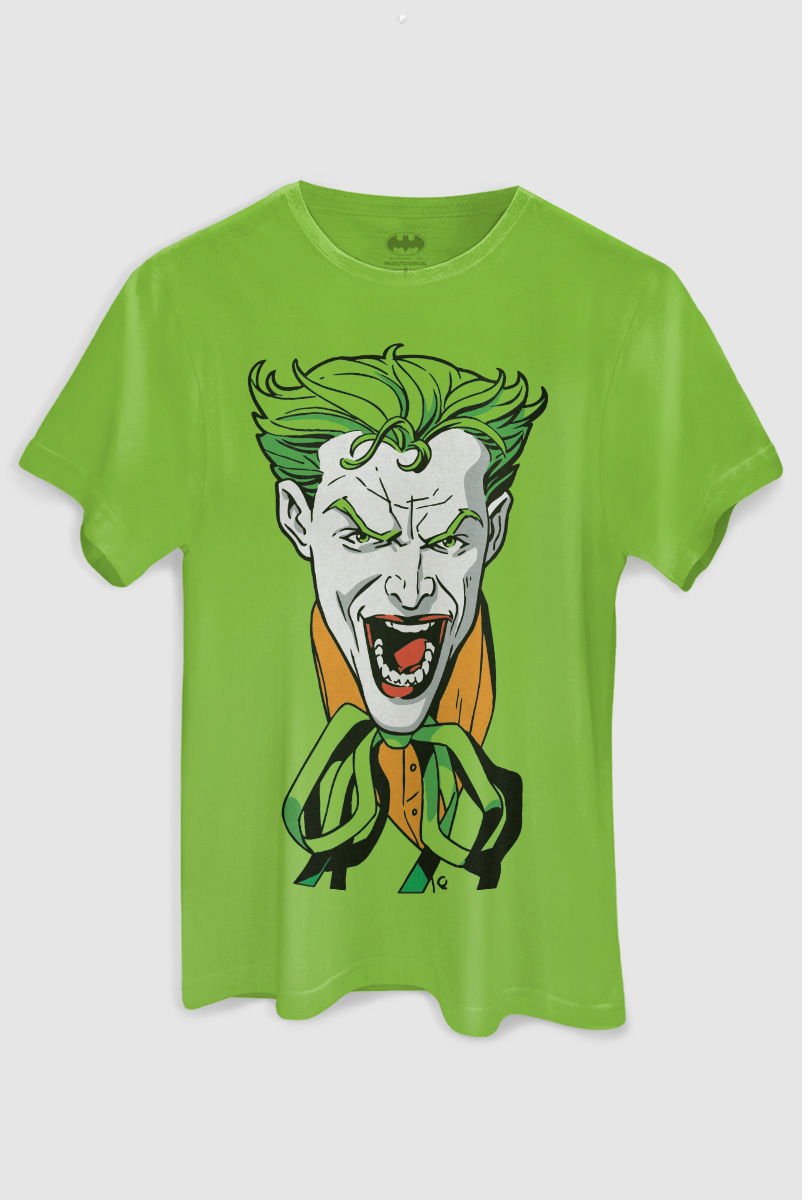 Camiseta Masculina The Joker  - bandUP Store Marketplace