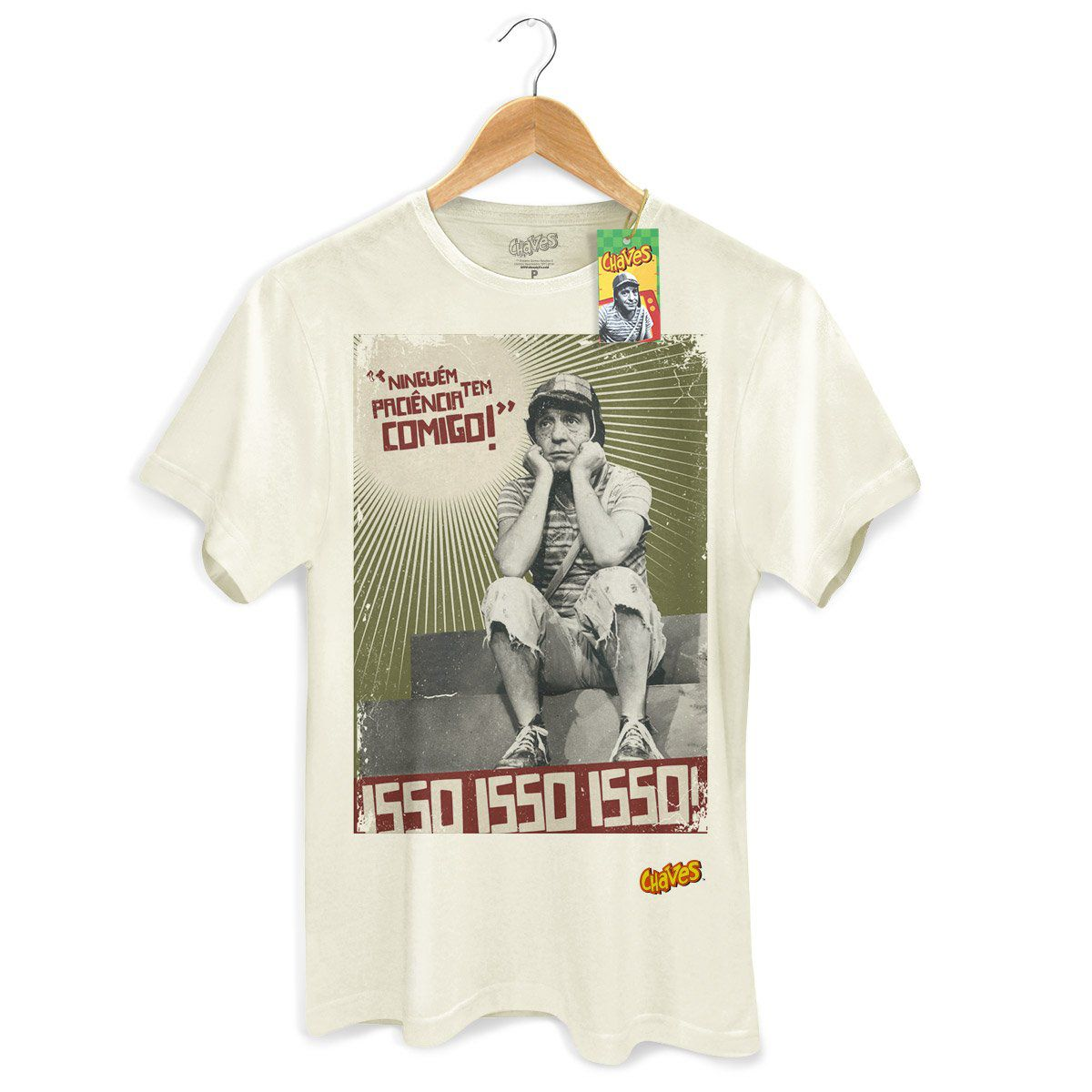 Camiseta Masculina Chaves Ninguém Tem Paciência Comigo! 2  - bandUP Store Marketplace