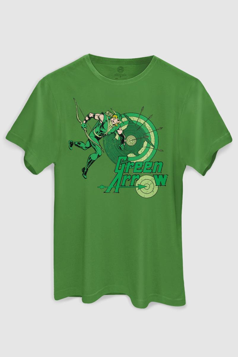 Camiseta Masculina Arqueiro Verde Flechas  - bandUP Store Marketplace