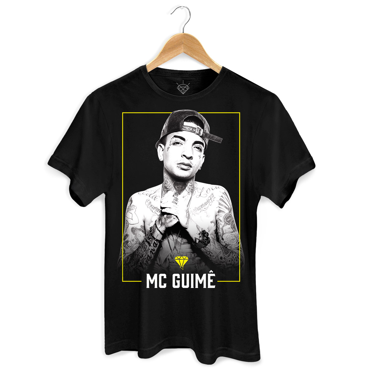 Camiseta Masculina MC Guimê Foto  - bandUP Store Marketplace