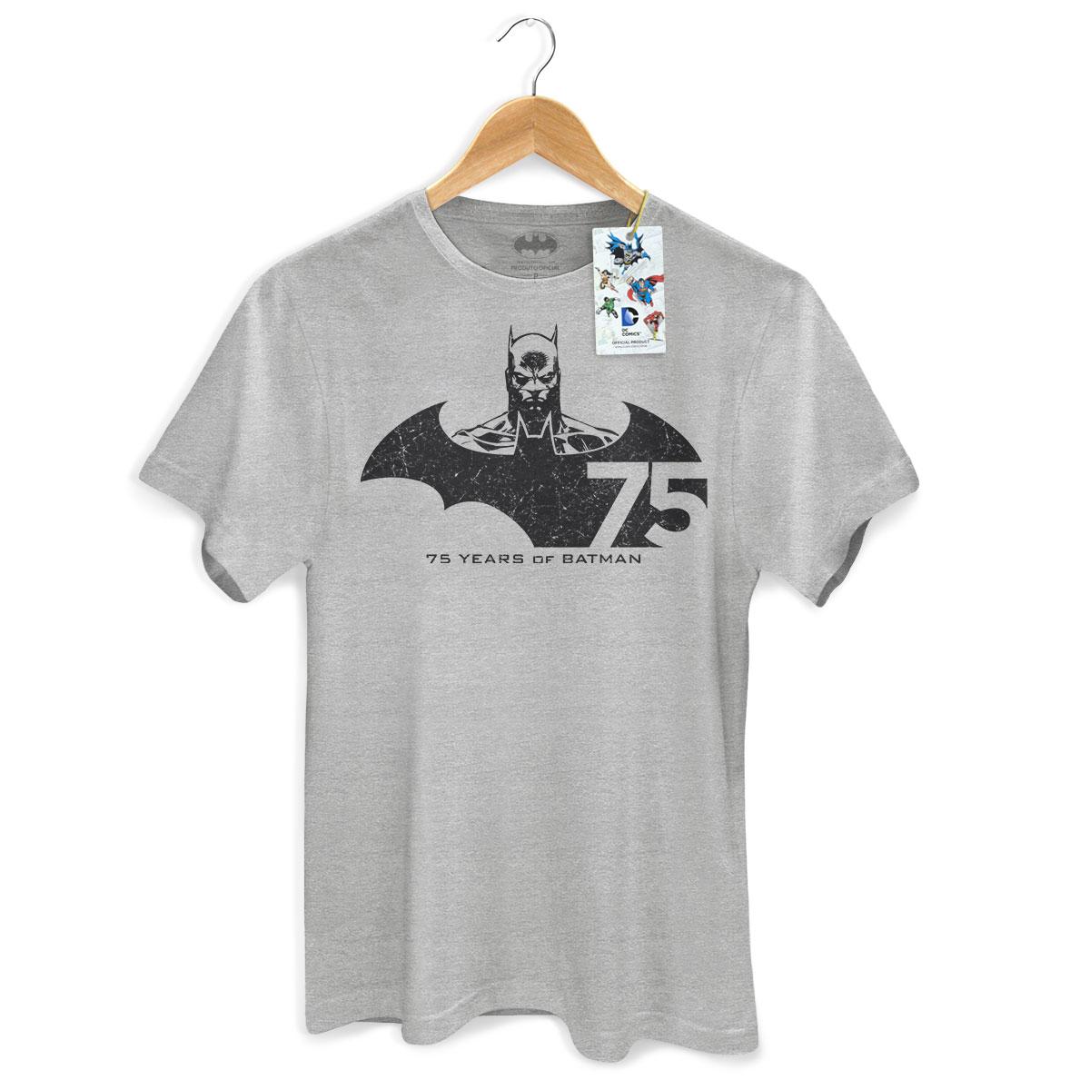 Camiseta Masculina Batman 75 Anos Tracing  - bandUP Store Marketplace