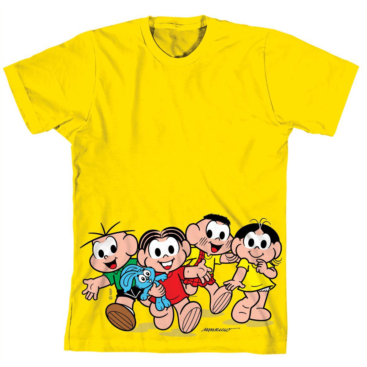 Camiseta Infantil Turma da Mônica Kids A Turma Modelo 2  - bandUP Store Marketplace
