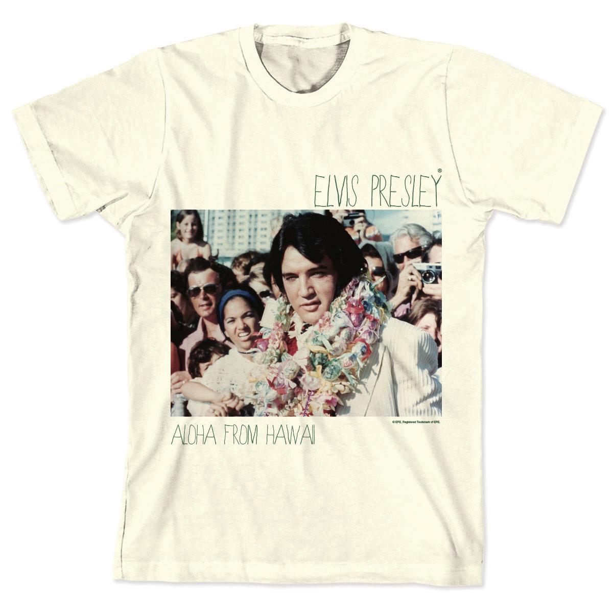 Camiseta Elvis Hawaiian Necklace  - bandUP Store Marketplace