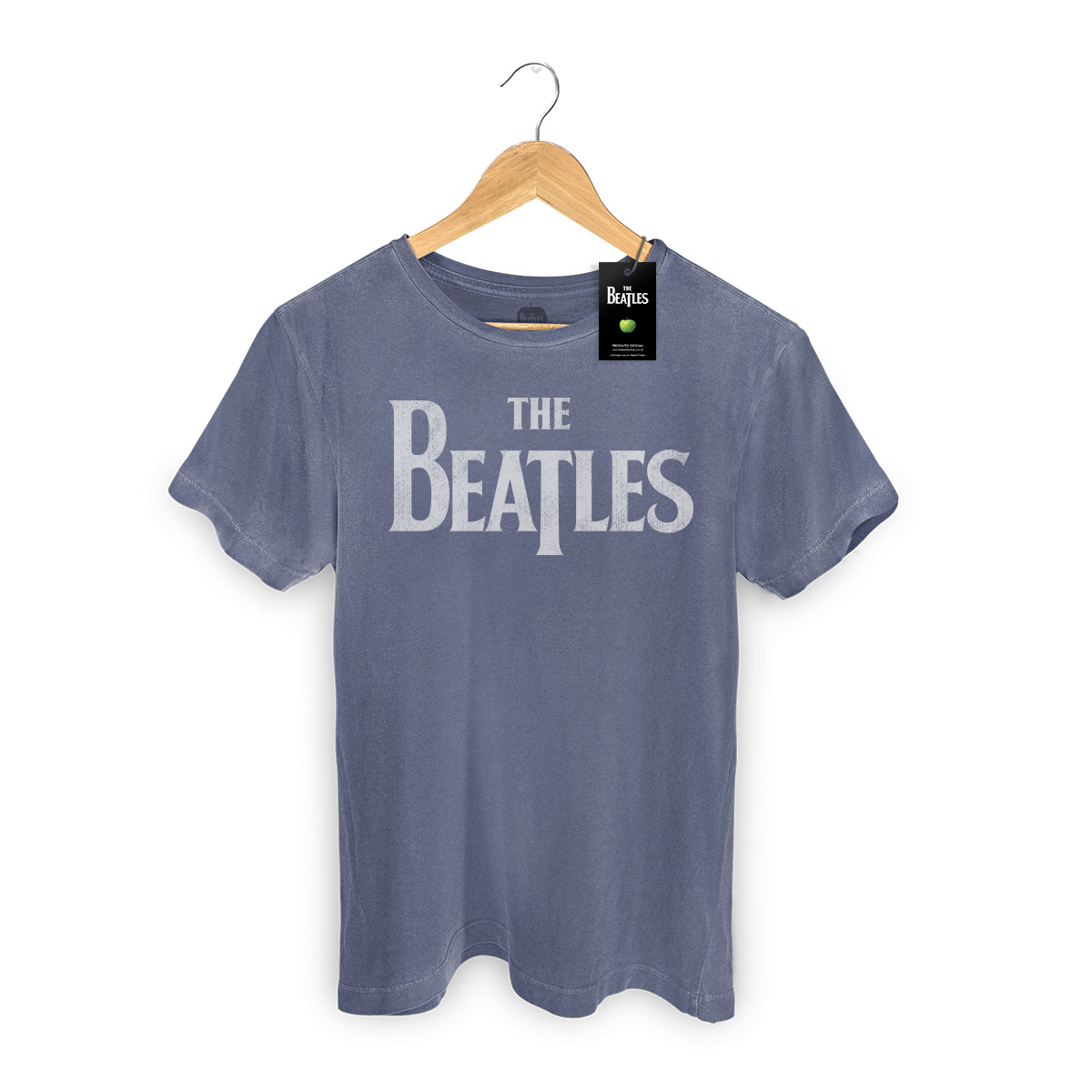 T-shirt Premium Masculina The Beatles Classic Logo  - bandUP Store Marketplace