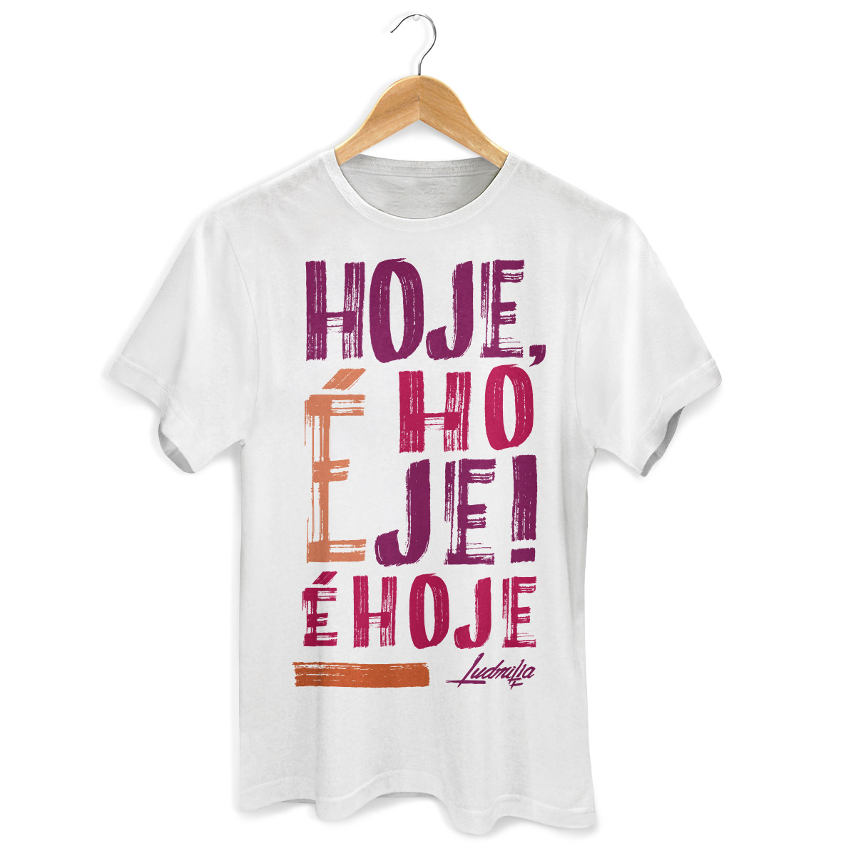 Camiseta Masculina Ludmilla É Hoje  - bandUP Store Marketplace