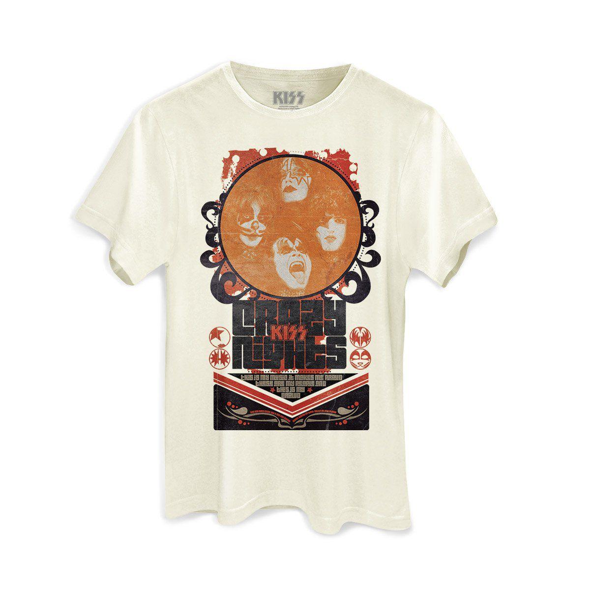 Camiseta Masculina Kiss Retro Basic  - bandUP Store Marketplace