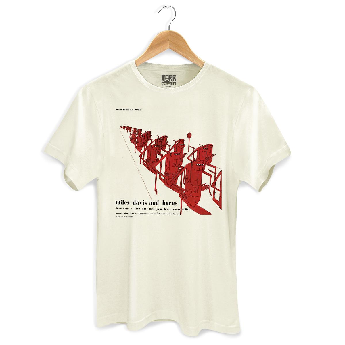Camiseta Masculina Miles Davis And Horns  - bandUP Store Marketplace