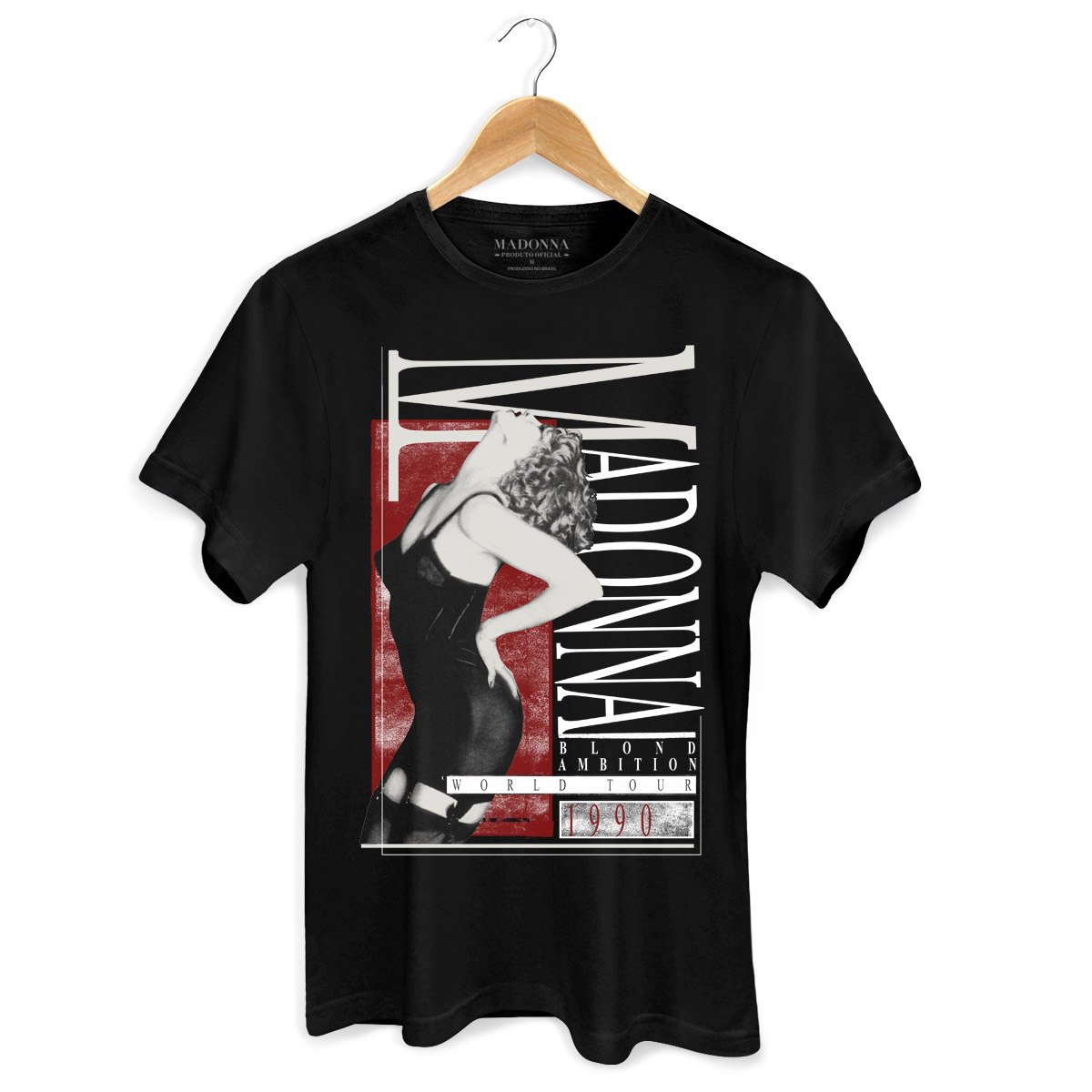 Camiseta Masculina Madonna Blond Ambition 3  - bandUP Store Marketplace