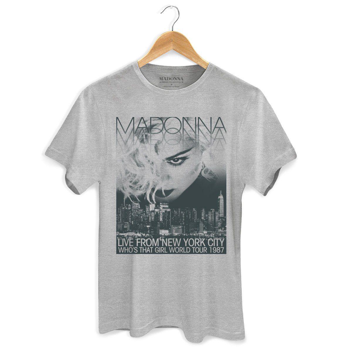 Camiseta Masculina Madonna Who´s That Girl World Tour 3  - bandUP Store Marketplace