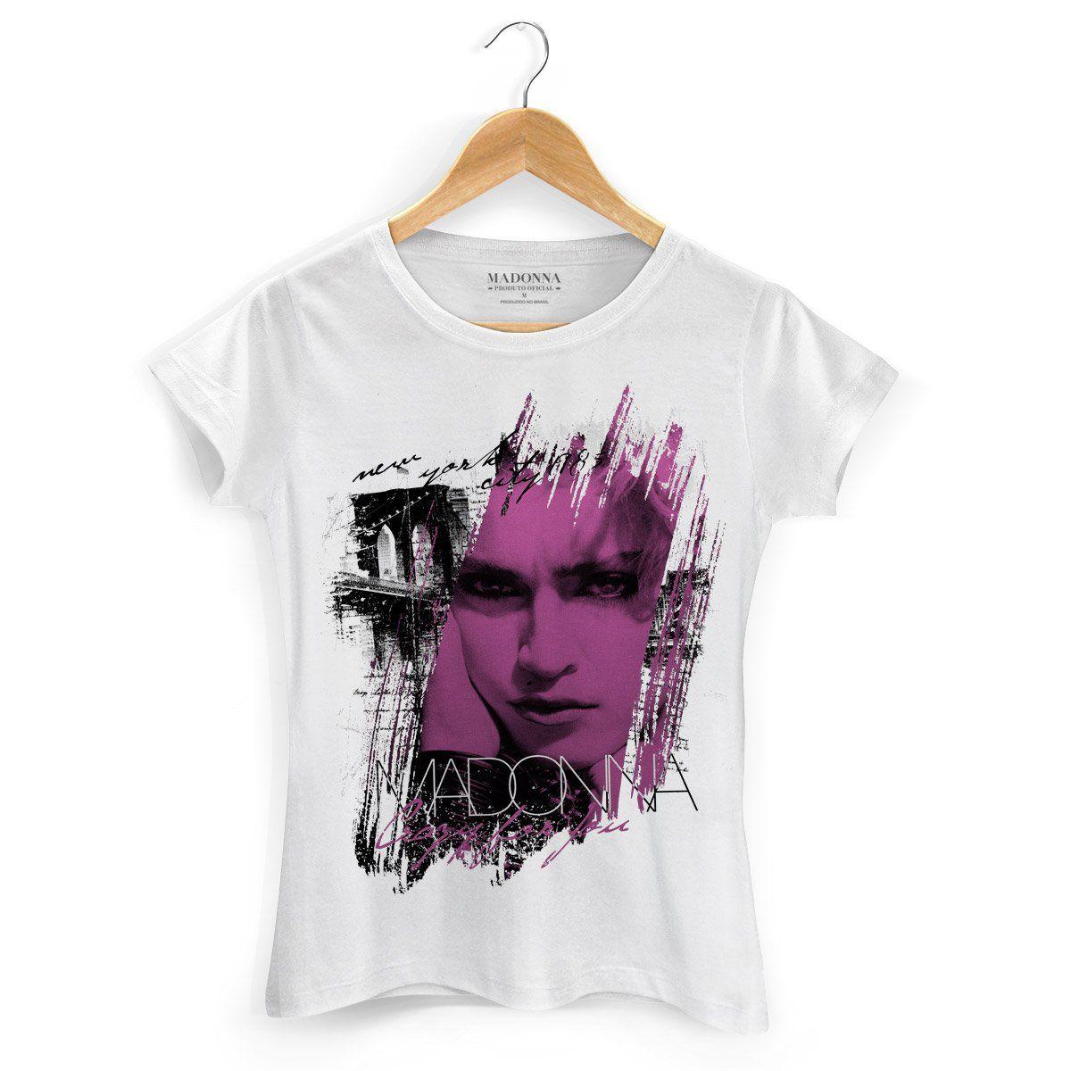 Camiseta Feminina Madonna Crazy For You  - bandUP Store Marketplace
