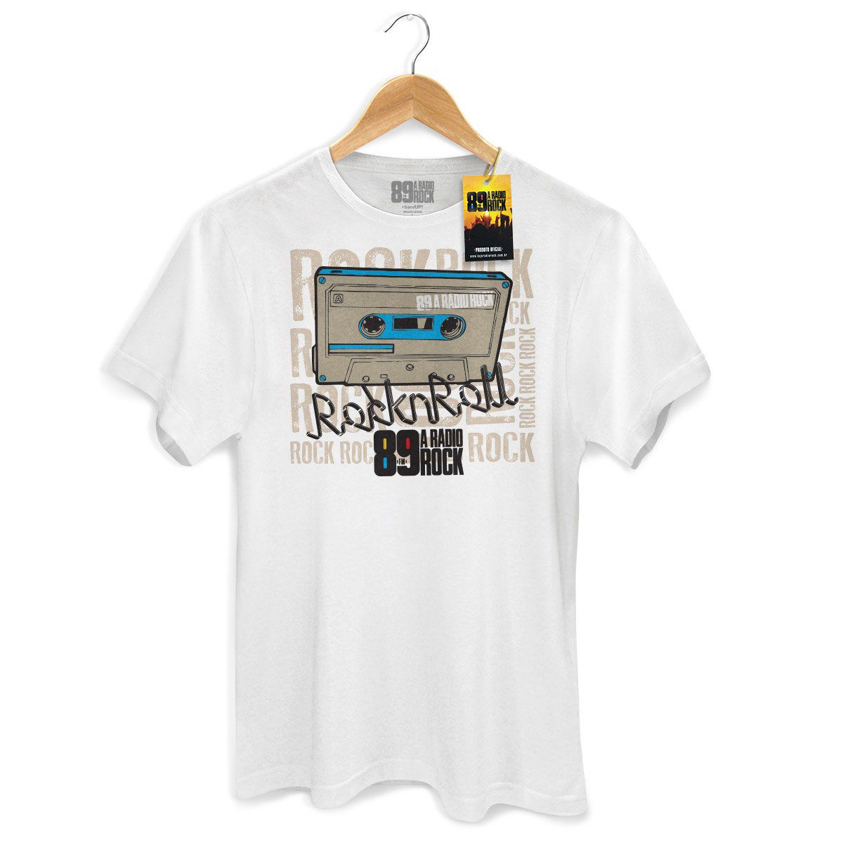 Camiseta Masculina 89 FM Rock n´Roll  - bandUP Store Marketplace