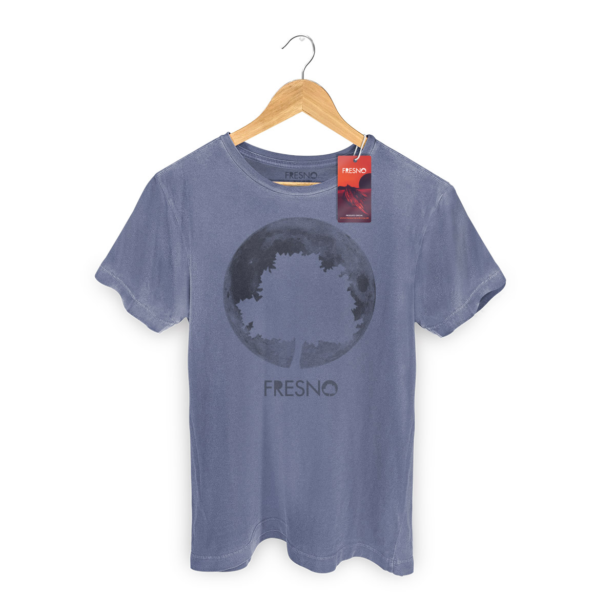 T-Shirt Masculina Premium Fresno Logo Árvore 3  - bandUP Store Marketplace