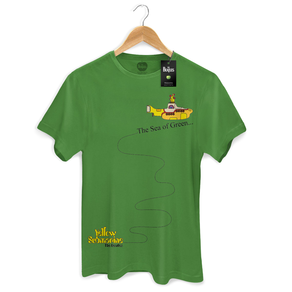 Camiseta Masculina The Beatles The Sea Of Green  - bandUP Store Marketplace