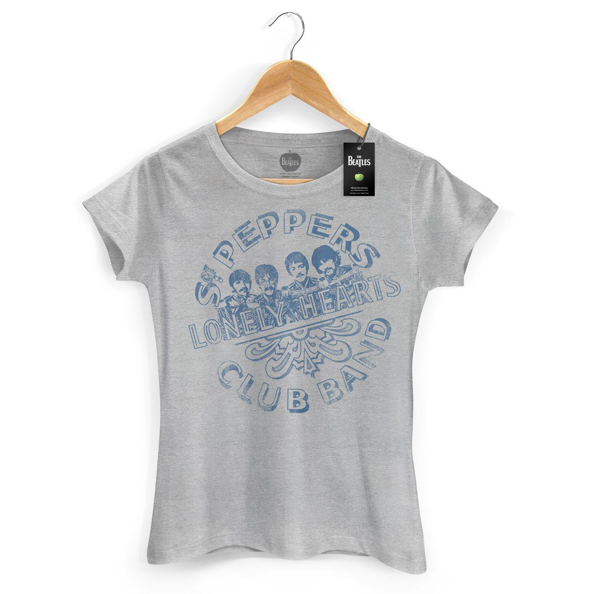 Camiseta Feminina The Beatles Sgt Pepper´s  - bandUP Store Marketplace