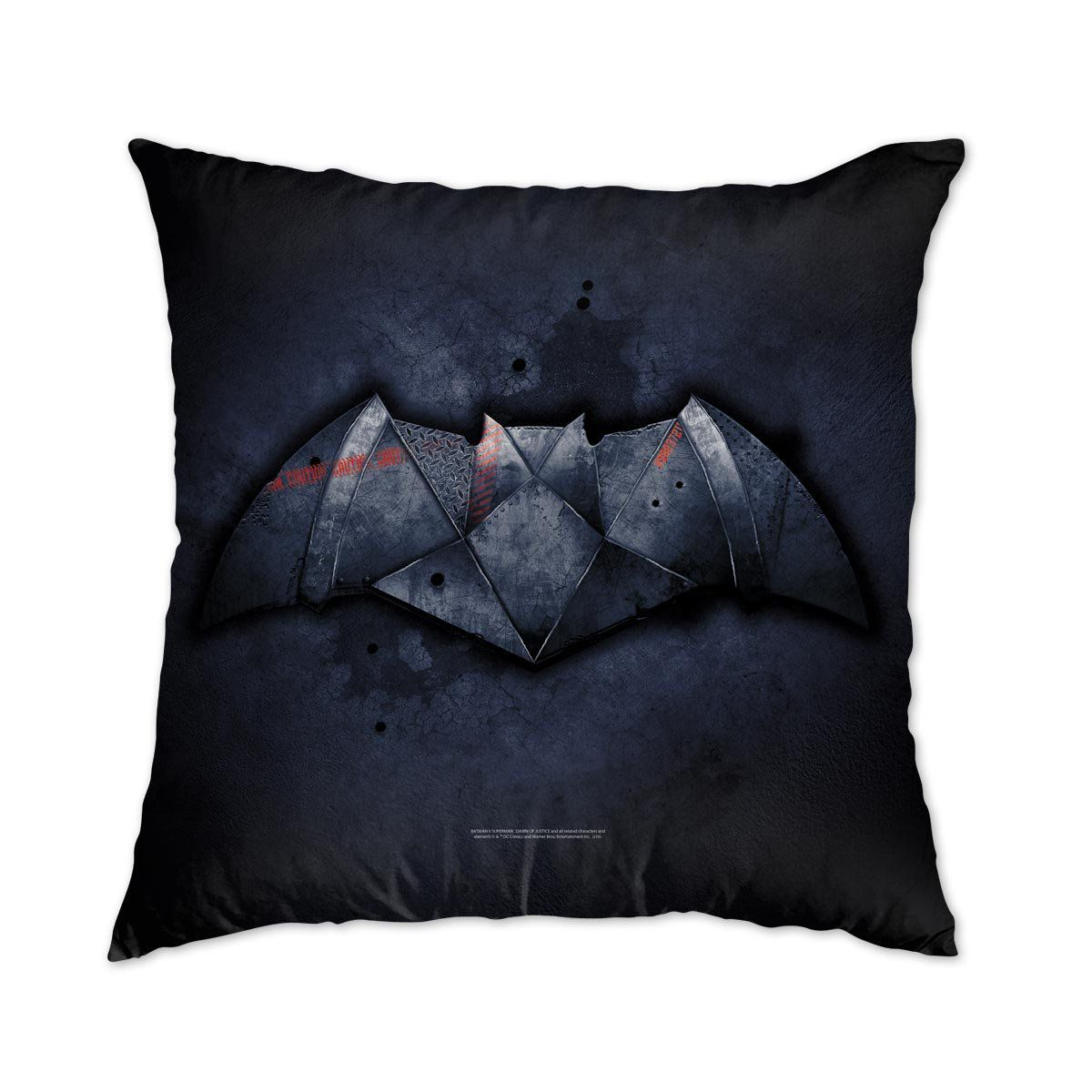 Almofada Batman VS Superman Logo Steel  - bandUP Store Marketplace