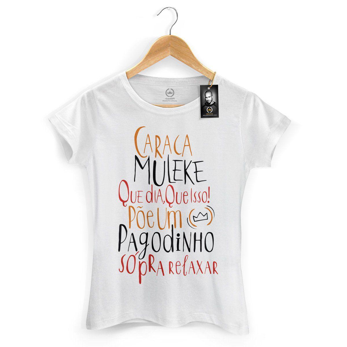 Camiseta Feminina Thiaguinho Que Dia, Que Isso!  - bandUP Store Marketplace